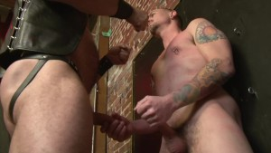 Whipping fucking and punching his slave - Factory Video