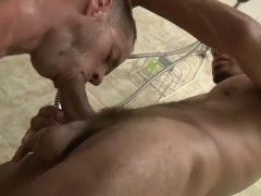 Throat fucking in the shower - Factory Video