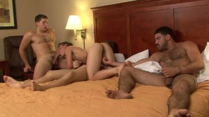 Twink gets teamed up on - Factory Video