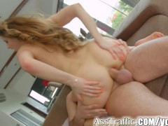 AssTraffic Anal without lube for this anal...