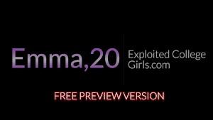 Hot Emma Stoned Porn Debut