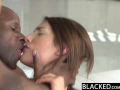 Picture BLACKED Real Model with Perfect Tits Loves B...