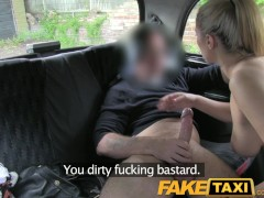 Picture FakeTaxi Naughty police woman in taxi man pa...