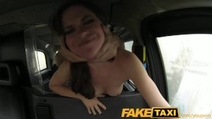 FakeTaxi Petite Australian with a very tight ass hole