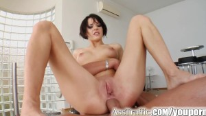 Ass Traffic Liz s ass is fucked up with a large cock