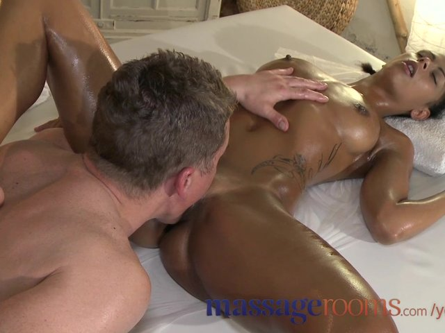 2 Ebony Teens White Guy