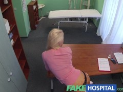 Picture FakeHospital Blonde seduces doctor to get her own...