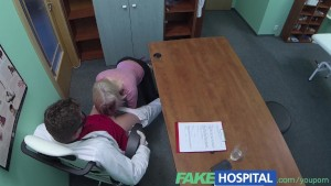 FakeHospital Czech sexy Blonde seduces doctor to get her own way