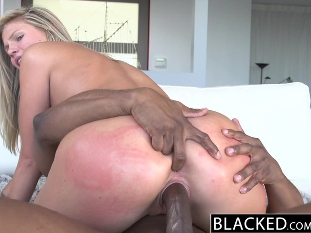 Wish big black dick on blonde