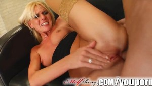 Milf Thing MILF escort works her clients cock