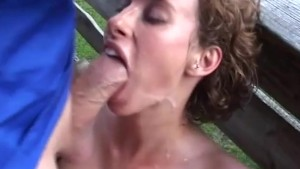 rough german anal in the mountains