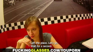 Fucking Glasses - Paying for a drink with sex
