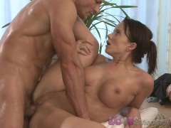 Love Creampie Busty MILFS getting their soft pussies filled with hot spunk