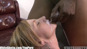 WhiteGhetto Blonde MILF Wants it Nasty with BBC