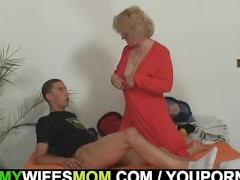Picture Mother-in-law fucks her son in law