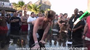 spring break wet t shirt contest real amateur teens public nude