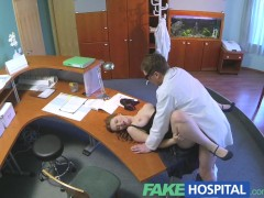 FakeHospital Busty new staff member s...