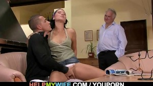 Young wife gets hooked up with a stranger