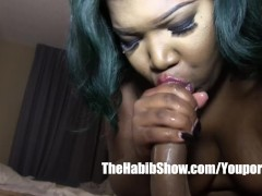 black ghetto hood amateur BBW first time video