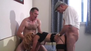 voyeur papys first threesome