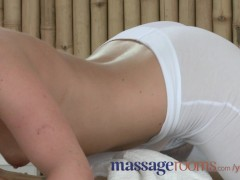Picture Massage Rooms Small breasted babes are made wet b...