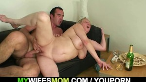 She finds him fucking her own mother!