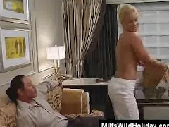 Milf Babe Heidi Picks Up A Stranger On Holiday