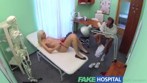 FakeHospital Wet and wild blondes pussy convinces doctor to allow her to return to work