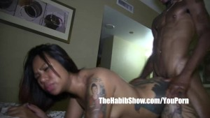 cambodian asian stephanie kim getting banged by BBC stretch p2