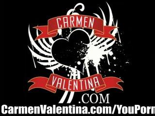 Carmen Valentina eats out goth sluts pussy