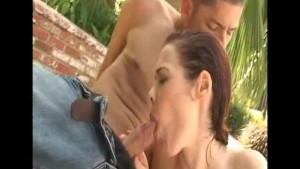 Poolside hookup with a MILF
