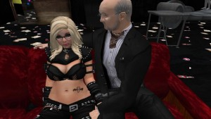 Maurice Legros qui se tape une jolie jeune femme blonde sexy