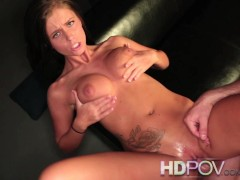 gorge profonde pov sexe sexy allumeuse queue: hdpov whitney westgate sexy striptease and cock riding