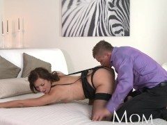 - MOM Sexy MILF in black...