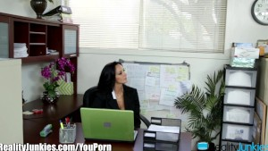 RealityJunkies Ava Addams and Manuel Ferrara office Fucking