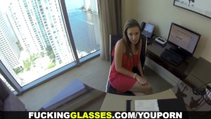 Fucking Glasses - Lunch break secretary fuck
