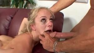 Angela Stone Gets Face Fucking Blowjob