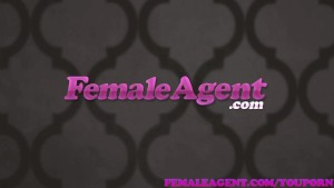 FemaleAgent Brunette agent is skilled in the art of seduction