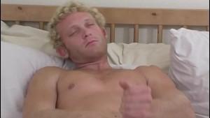 Blonde Straight Guy Luke Masturbating