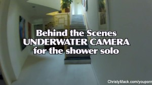Shower BTS Fun With Christy Mack, Dahlia and Ivan