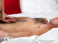 Picture ManRoyale Cute guy gets a dick massage