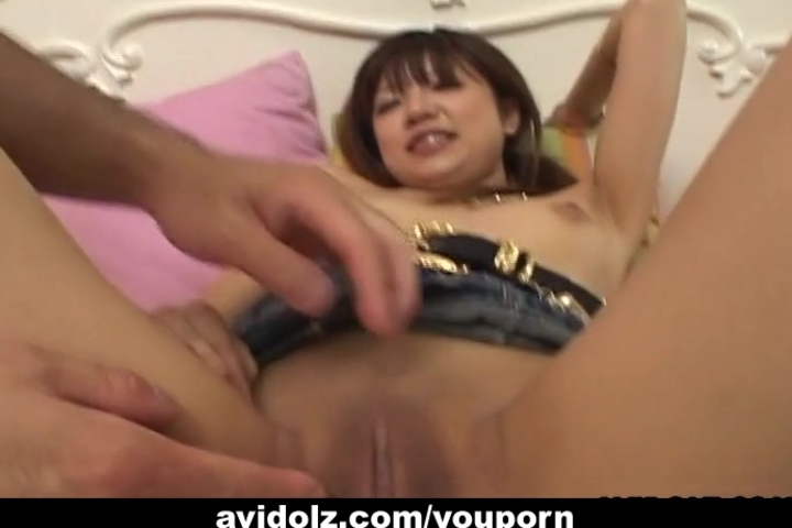 Dreamy Asian tart loves being