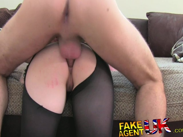 image Fakeagentuk orgasms anal sex and squirting in interview