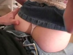 sexy handjob from girlfriend