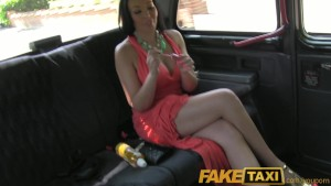 FakeTaxi Rio Lee Big boobs and big booty fucking in London black taxi