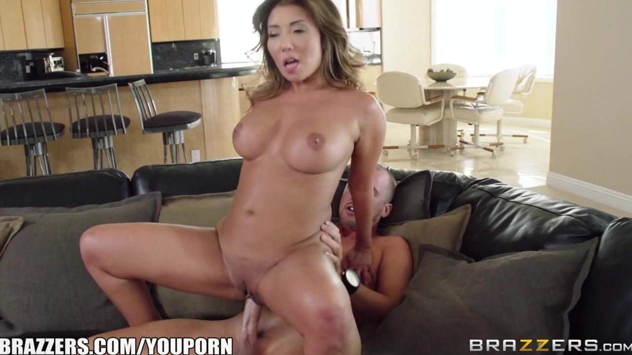 Brazzers - Sexy Asian Milf Akira Lane needs some cheering up