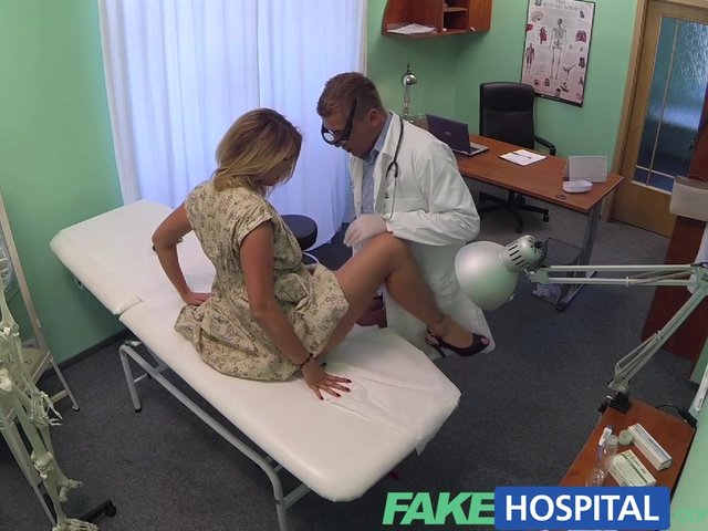 Fakehospital new doctor gets horny milf naked and wet 6