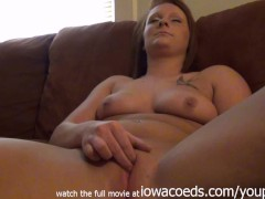 casting canape jeune fille: first time casting couch red head ginger college girl