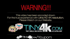 4K HD - Tiny4K Teen Alex Tanner gets inflamed with vibrator