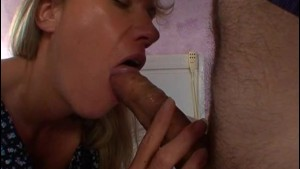 Nice blonde Gaelle analfucked
